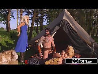Game of thrones Xxx princess peta jensen her handmaiden aruba jasmine fucked