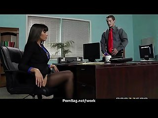 Big Tit Caucasian Slut Banged At The Office 9