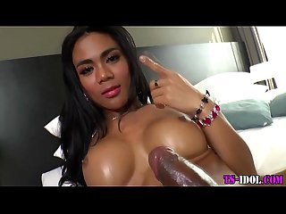 Heels tranny cum drenched