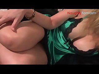 Horny mom seducing son free mom videos at naughtyfam com