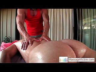 Dayton gets anus oiled for massage 3 By MassageVictim