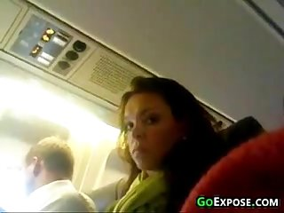 Flashing during a flight
