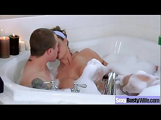 Wild Housewife (eva notty) With Big Juggs Bang Hardcore clip-14