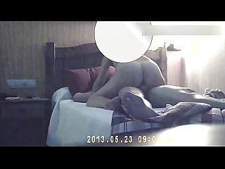 Follando con mi Esposa con camara oculta en hotel