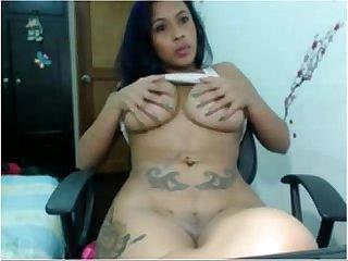 Thick tattoed latina tittycam net
