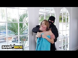 Bangbros sexy young kimmy granger gets roughed up by home invader and she likes it