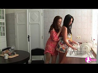 Seduced by Two Lesbian Milfs - Viv Thomas HD