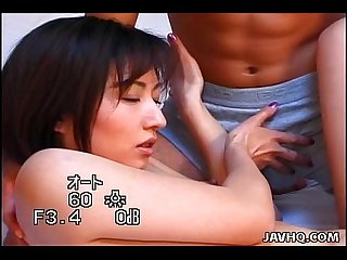 Sexy Hitomi ikeno getting a nice hard fuck excl