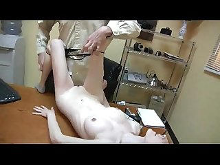 Skinny german secretary with big tits gets fucked on the table by her New boss