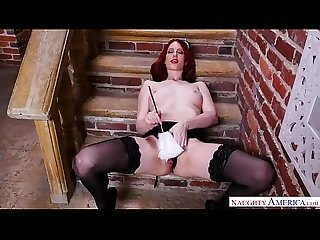 Naughty America - Your wife Alex Harper fulfills your naughty maid fantasy