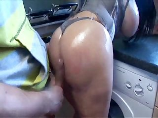 Cathy Barry Oiled up