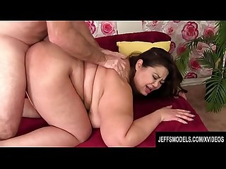 Jeffs Models - Asian Plumper Miss LingLing Doggystyle Compilation Part 1
