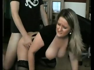 Big boobed milf ass creampied on homemade