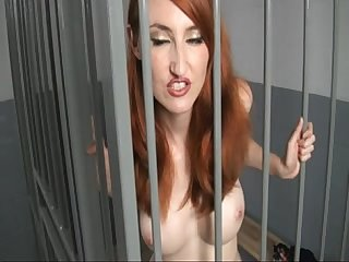 Kendra james jerking off in the jail