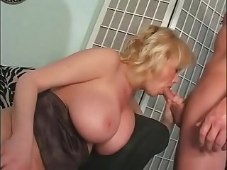 Blonde milf takes a cock #2
