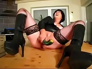 Best mom fisting wanking with cucumber pov see pt2 at goddessheelsonline co uk