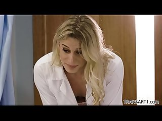 TS beauty surprises the doctor - Transsensual