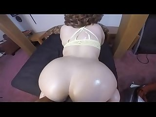 Pawg with yellow bra doggystyle