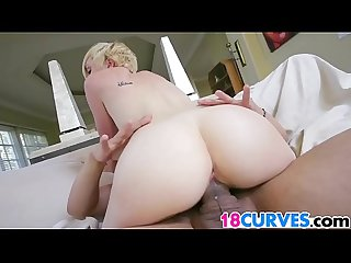 Blonde PAWG Miley May Gets Pounded