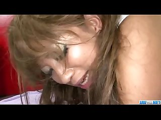 Busty Hina Maeda enjoys serious pounding on cam
