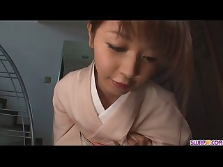 Teen Marika gives an asian pov blowjob and swallows cum - More at Slurpjp.com