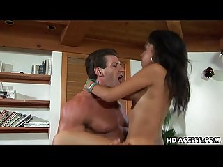 Busty latino nymphet havana ginger gets her pussy boned rough