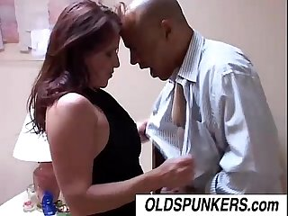 Smoking hot milf tasia loves the taste of cum