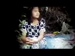 Myanmar spying young couple outdoor sex 42