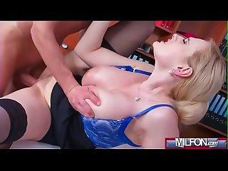 Busty Milf boss fucks big geek cock angel wicky 03 clip 03