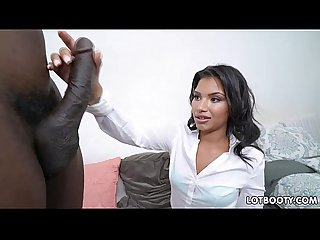 Latina big ass teacher martini bows and huge black cock