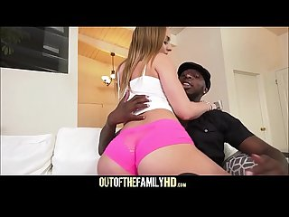 Hot PAWG Teen Stepdaughter Daisy Stone Fucked By Black Stepdad