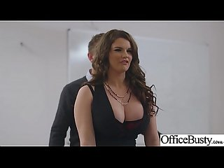 lpar tasha holz rpar girl with round big tits in hard style Sex in Office clip 28