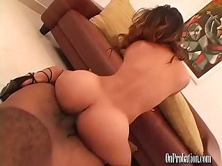 Big Booty Asian Cutie Fucks for a Huge Facial POV