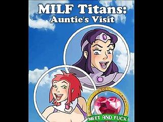 Milf titans auntie s visit
