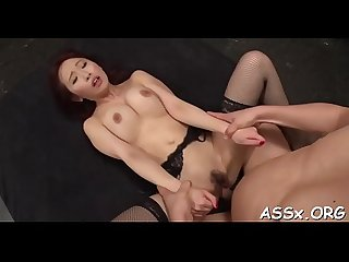 Sizzling sexy oriental anal sex