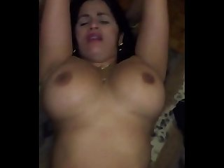 Big bouncing booby wife fucked hard