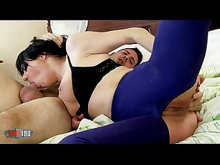Hot and naighty milf damaris fucking hard with younger guy