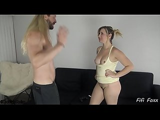 Sister blackmails brother into fucking her fifi foxx and cock ninja