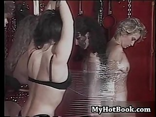 Dusty rose and mistress destiny get together with
