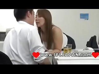 Japanese woman seduced by co worker at office more Japanese Xxx full hd porn at www ifljapan com