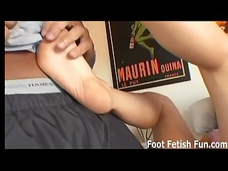 Like my feet so i can give you a footjob