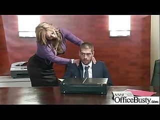 Sexy Horny Girl (eva notty) With Big Tits Riding Cock In Office movie-15