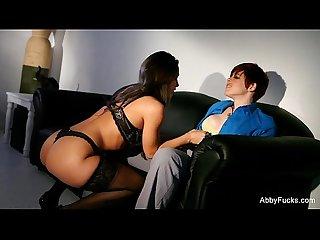 Abigail mac fucks a hot redhead