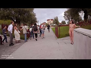 Jeny Smith and Vienna Love nude in public