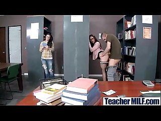Sex tape with busty slut teacher and horny student mov 09
