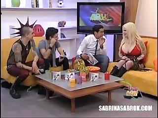 Sabrina sabrok y su esposo Entrevista picante de escrupulos