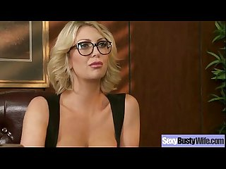 Hard Intercorse Action With Big Tits Slut Mommy (leigh lezley) clip-20