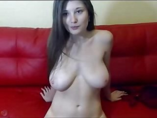 Big hanging tits