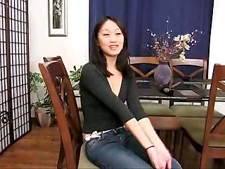 Evelyn lin amateur anal attempts 4 her 1st scene ever