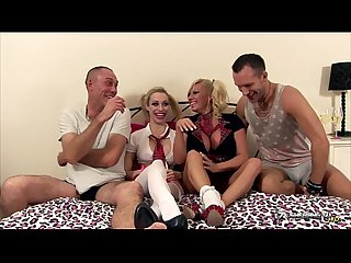 Michelle thorne chessie kay in orgy show